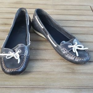 Cole Haan w/Nike Air Sz 10 navy boat shoes